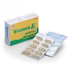 Vitamin E thiên nhiên 400IU Domesco