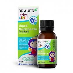 Vitamin tổng hợp Brauer Baby & Kids Liquid Multivitamin For Infant 45ml