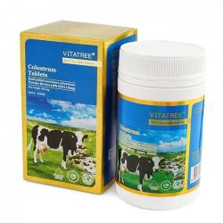 Tpbvsk sữa non Vitatree Colostrum Tablets, Lọ 200 viên
