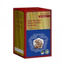 Tpbvsk Nhau thai cừu Vitatree Super Strength Sheep Placenta 60000mg - Lọ 60 viên