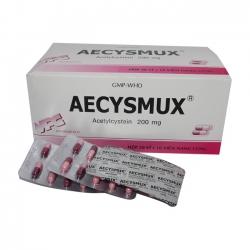 VPC Aecysmux 200mg, Hộp 500 viên