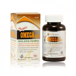 Triple Omega 369 Vitamins For Life, Hộp 90 viên