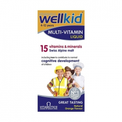Tpbvsk Vitabiotics Wellkid Multivitamin Liquid, Hộp 150ml