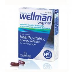 Tpbvsk Vitabiotics Wellman Original, Hộp 30 viên