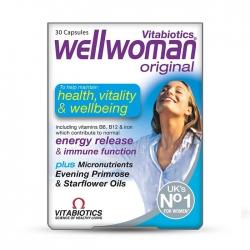 Hỗ trợ tăng cường sức khỏe, chống lão hóa Wellwoman, Hộp 30 viên