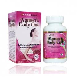Bổ sung Vitamin cho phụ nữ Women Daily One Vitamins For Life, Hộp 60 viên