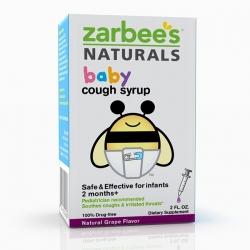 Siro ho Zarbee\'s Naturals Baby Cough Syrup cho bé từ 2 tháng tuổi trở lên