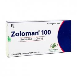 Zoloman 100mg OPV 3 vỉ x 10 viên