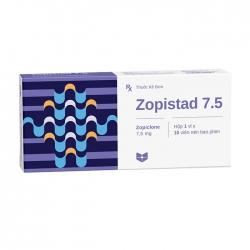Thuốc hướng thần Stella Zopistad 7.5