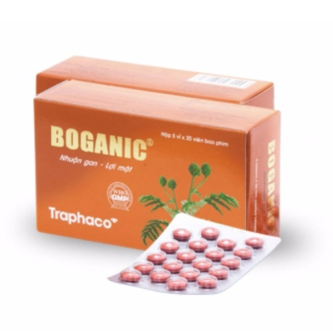 Thuốc bổ gan Traphaco Boganic, Hộp 100 viên ( Bao Film )