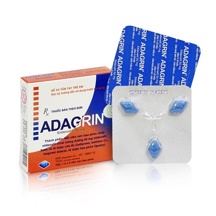 Thuốc cường dương Adagrin 50mg