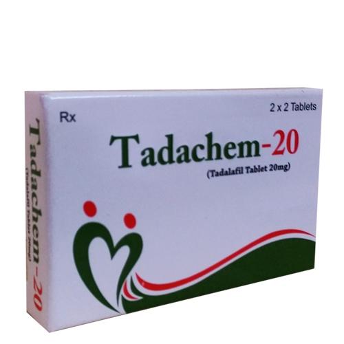 Thuốc cường dương Tadachem 20mg, Hộp 04 viên
