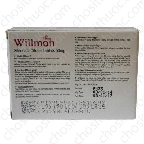 Thuốc cương dương Willmon 50mg, Hết hàng