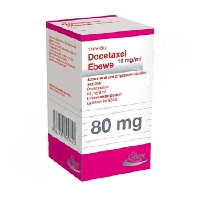 Thuốc Docetaxel Ebewe 80mg/8ml