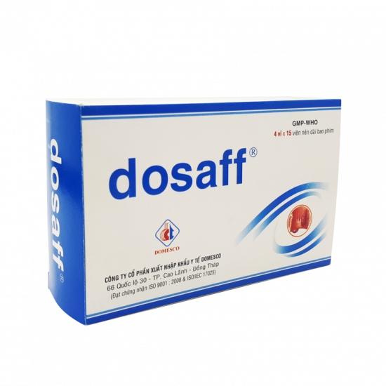 Thuốc Dosaff, Hộp 60 viên