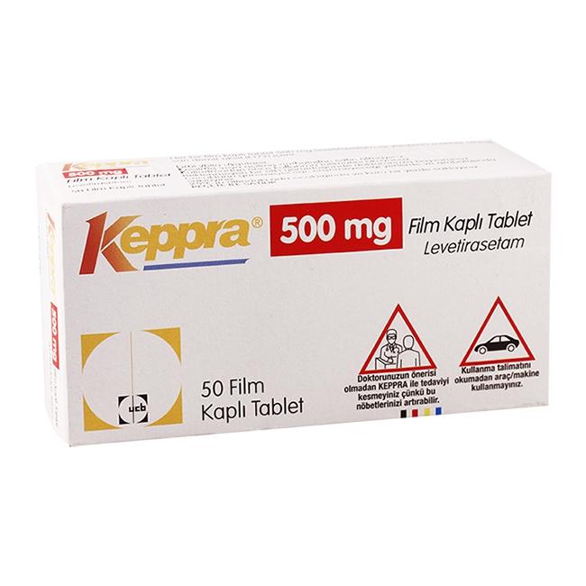 Thuốc Keppra 500 mg, 50 viên