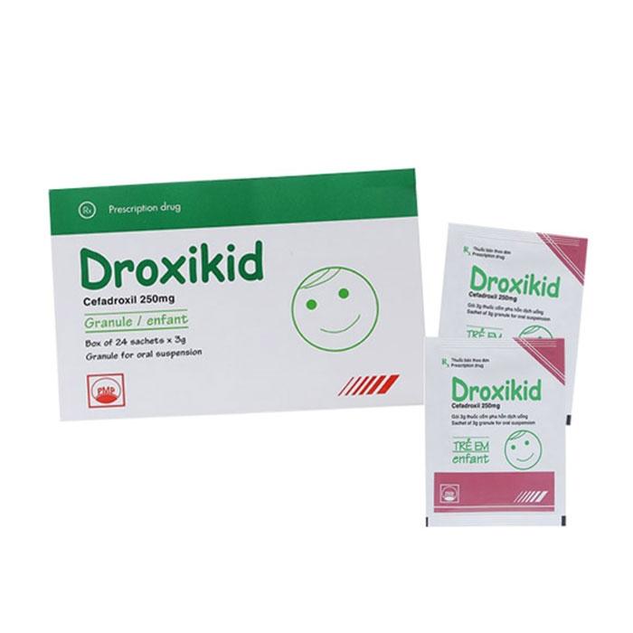 Thuốc kháng sinh PMP Droxikid 250mg
