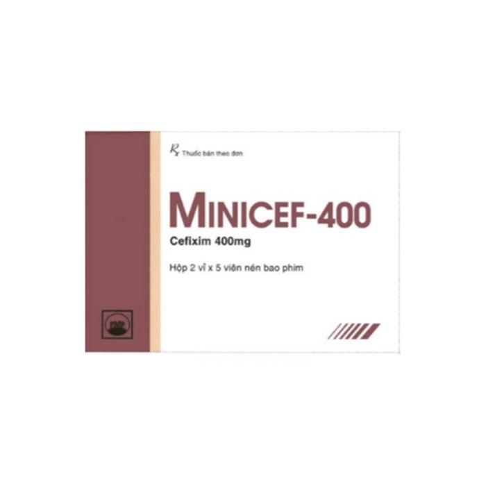 Thuốc kháng sinh PMP Minicef 400