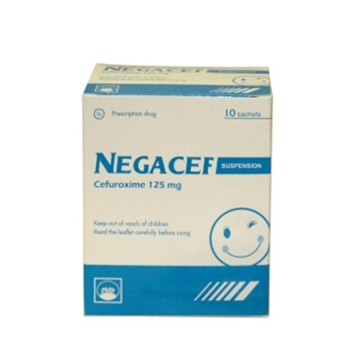 Thuốc kháng sinh PMP Negacef 125mg