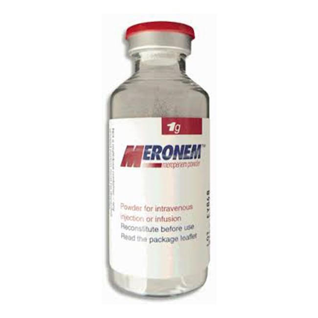Thuốc Meronem 1g, Hộp 10 lọ