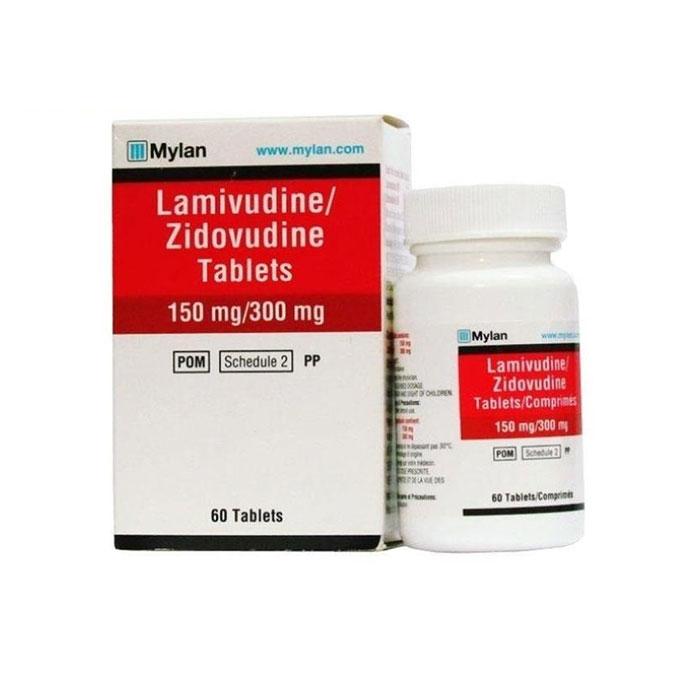 Thuốc Mylan Lamivudine 150mg Zidovudine 300mg