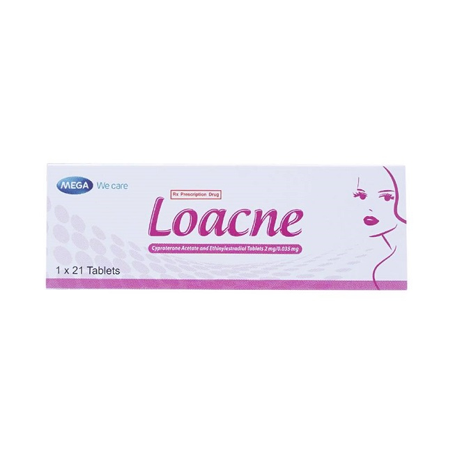 Thuốc  Loacne, Hộp 21 viên