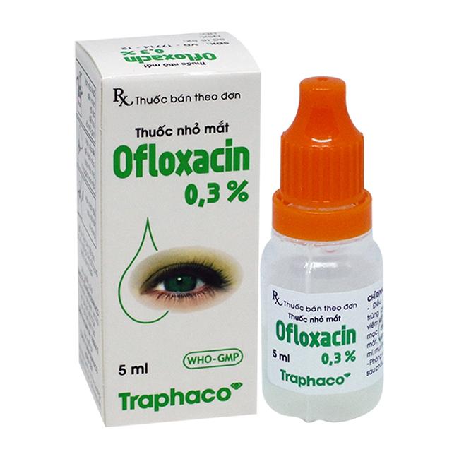 Thuốc nhỏ mắt Traphaco Ofloxacin 0,3% Chai 5ml