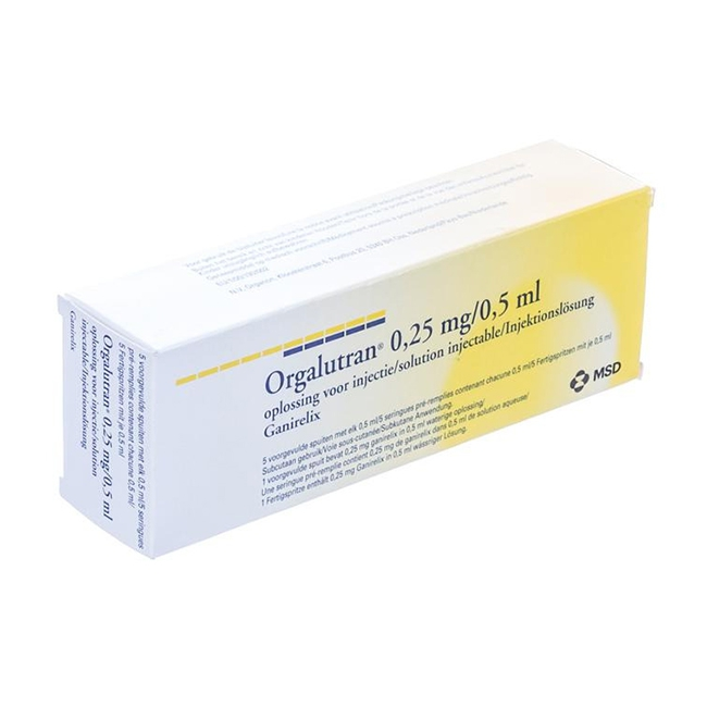 Thuốc Orgalutran 0.25mg/0. 5ml