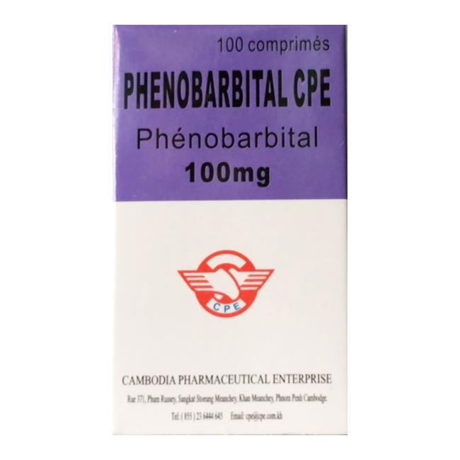 Thuốc Phenobarbital 100mg