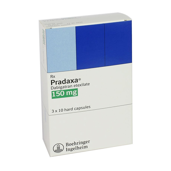 Thuốc Pradaxa 150Mg, Hộp 3 vỉ x 10 viên