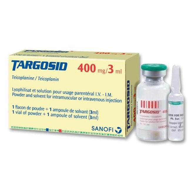 Thuốc Targosid 400mg