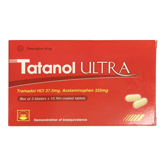 Thuốc Tatanol Ultra, Hộp 30 viên