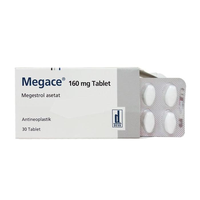 Thuốc ung thư Megace 160mg, Hộp 30 viên