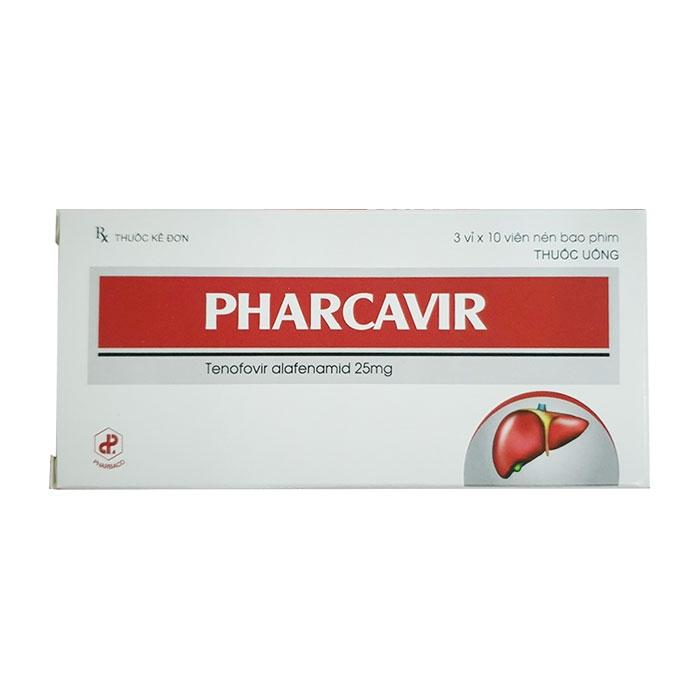Thuốc viêm gan B Pharbaco Pharcavir 25mg