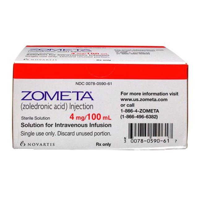 Thuốc Zometa 4mg/100ml