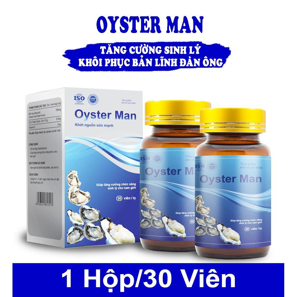 Tpbvsk Tinh chất hàu Oyster Man, Hộp 30 viên
