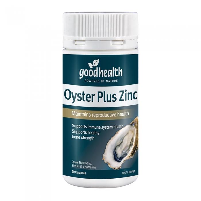 Tinh chất hàu tươi Goodhealth Oyster Plus Zinc, Hộp 60 viên