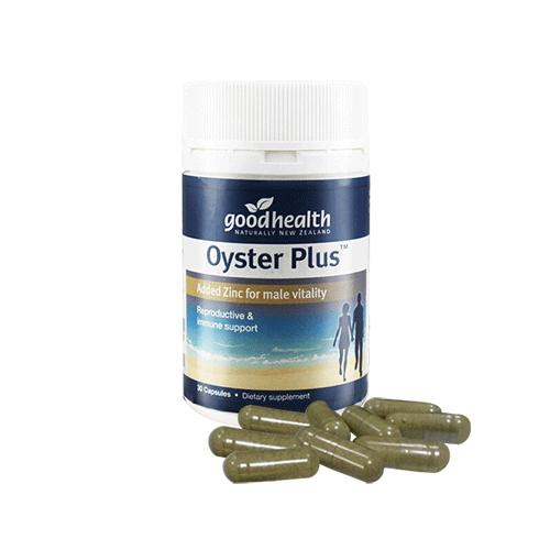 Tinh chất hàu tươi Oyster plus Goodhealth, New Zealand 30 viên