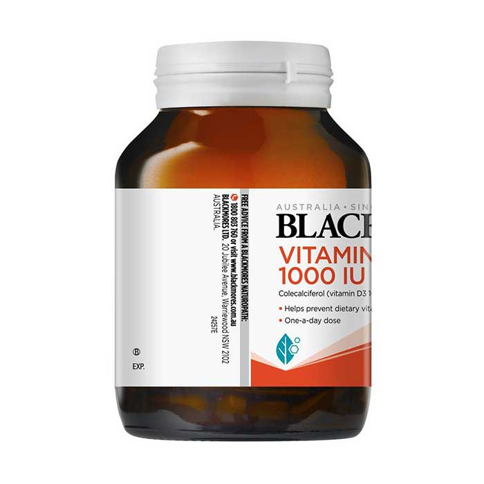 Tpbvsk Blackmores Vitamin D3 1000IU, Chai 200 viên