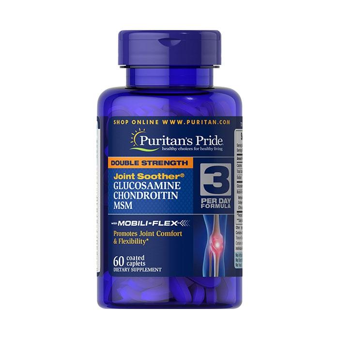 Tpbvsk bổ khớp Puritan s Pride Glucosamine Chondroitin MSM 60 Viên