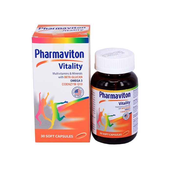 Tpbvsk Multivitamin Pharmaviton Vitality, Chai 30 viên