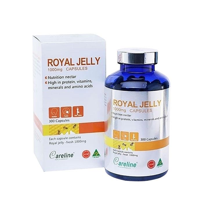 Tpbvsk Sữa ong chúa Careline Royal Jelly 1000mg, Chai 300 viên
