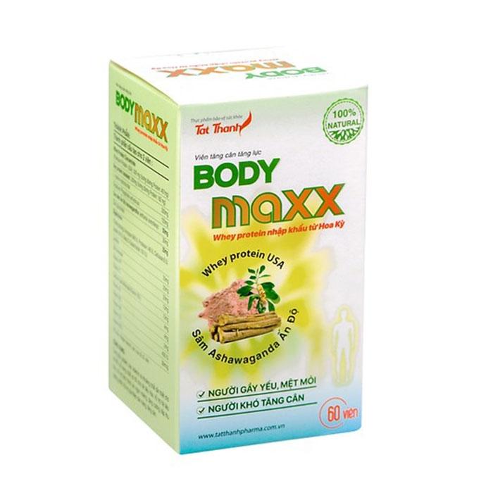 Tpbvsk tăng cân tăng lực Body Maxx, Hộp 60 viên