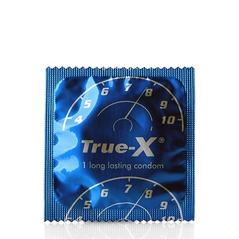 Bao cao su True-X performax kéo dài thời gian quan hệ (12 cái/hộp)