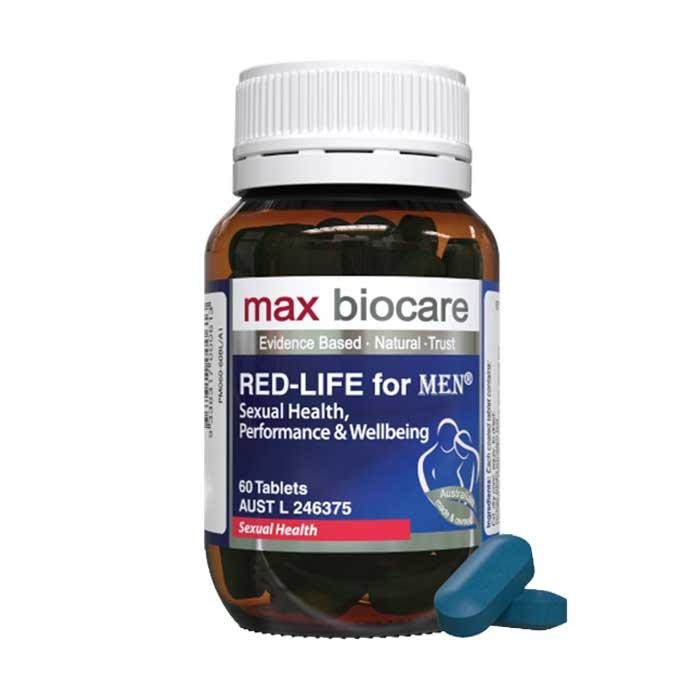Viên hỗ trợ sinh lý nam Max Biocare Red-Life For Men 60 viên