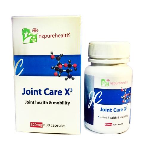Joint Care X3 giúp bổ khớp, kháng viêm nhờ vẹm xanh