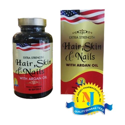 Viên uống chăm sóc Hair, Skin & Nails (Hộp 60 viên)