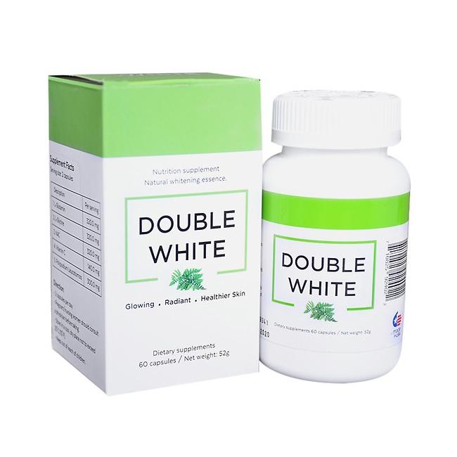 Tpbvsk làm đẹp Double White, Hộp 60 viên
