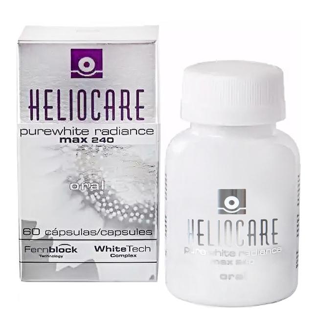 Viên uống trắng da Heliocare Purewhite Radiance Max 240, 60 viên