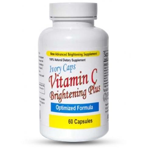 Viên uống trắng da Ivory Caps Vitamin C Bringhtening Plus